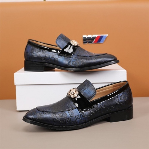 Versace Leather Shoes For Men #845414