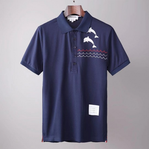 Thom Browne TB T-Shirts Short Sleeved For Men #845494
