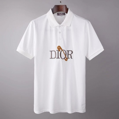 Christian Dior T-Shirts Short Sleeved For Men #845540