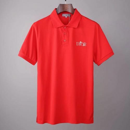 Christian Dior T-Shirts Short Sleeved For Men #845546