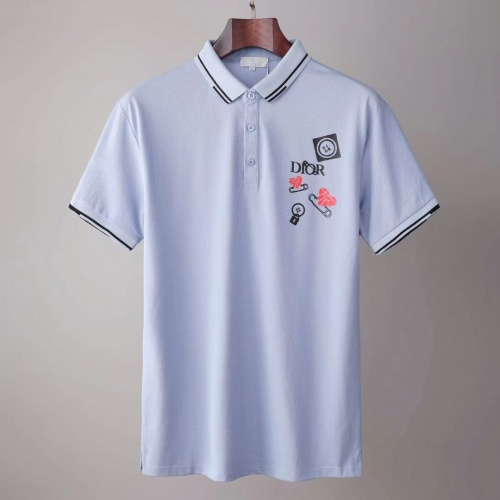 Christian Dior T-Shirts Short Sleeved For Men #845548