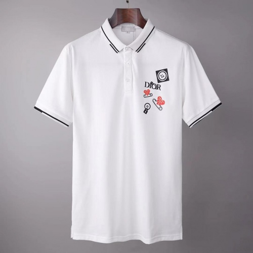 Christian Dior T-Shirts Short Sleeved For Men #845549