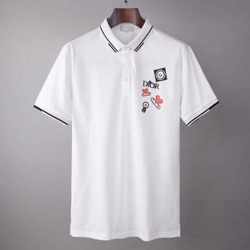 Christian Dior T-Shirts Short Sleeved For Men #845549