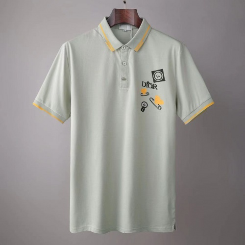 Christian Dior T-Shirts Short Sleeved For Men #845550