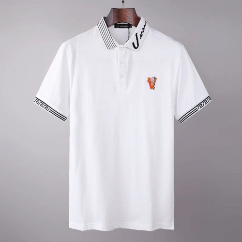 Versace T-Shirts Short Sleeved For Men #845555