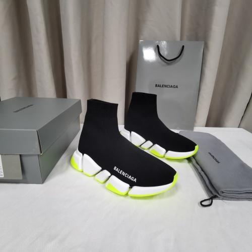 Balenciaga Boots For Men #845566 $96.00, Wholesale Replica Balenciaga Boots