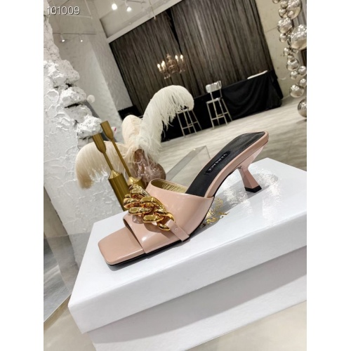 Replica Versace Slippers For Women #845607 $68.00 USD for Wholesale