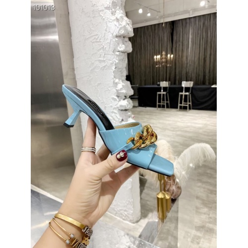 Replica Versace Slippers For Women #845609 $68.00 USD for Wholesale