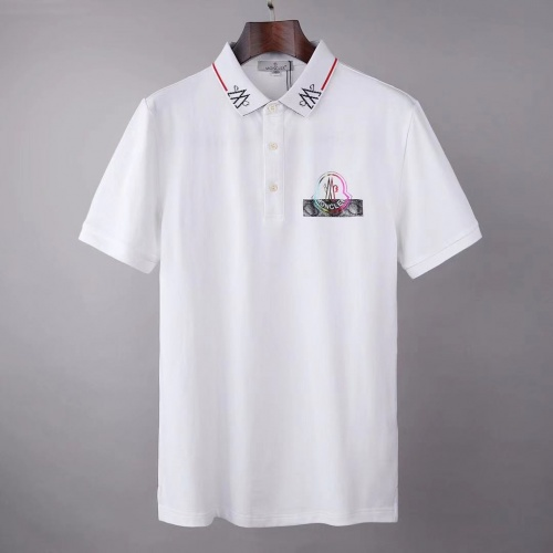 Moncler T-Shirts Short Sleeved For Men #845620