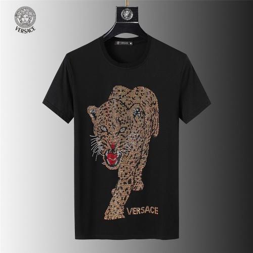 Versace T-Shirts Short Sleeved For Men #845632