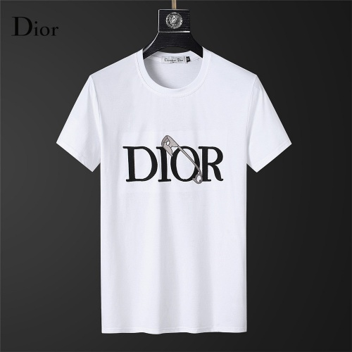 Christian Dior T-Shirts Short Sleeved For Men #845641