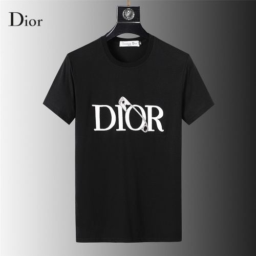 Christian Dior T-Shirts Short Sleeved For Men #845642 $32.00 USD, Wholesale Replica Christian Dior T-Shirts