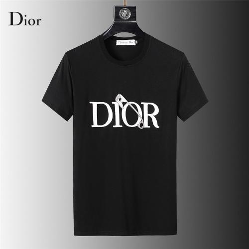 Christian Dior T-Shirts Short Sleeved For Men #845642