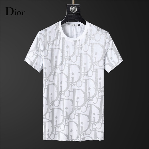 Christian Dior T-Shirts Short Sleeved For Men #845643