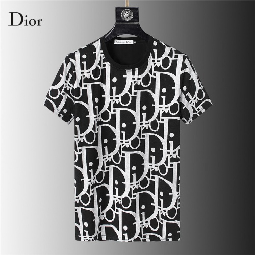 Christian Dior T-Shirts Short Sleeved For Men #845644