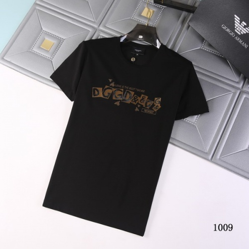Dolce & Gabbana D&G T-Shirts Short Sleeved For Men #845681 $29.00 USD, Wholesale Replica Dolce & Gabbana D&G T-Shirts