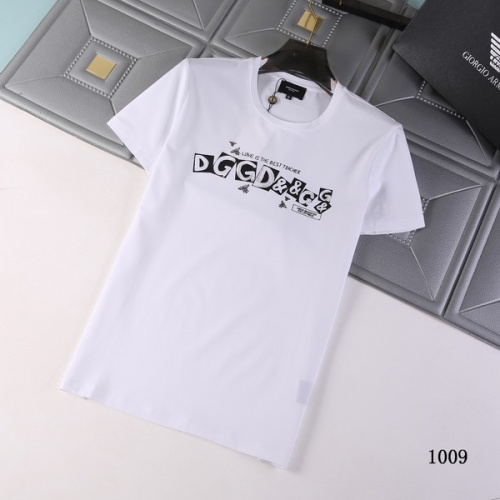 Dolce & Gabbana D&G T-Shirts Short Sleeved For Men #845683 $29.00 USD, Wholesale Replica Dolce & Gabbana D&G T-Shirts
