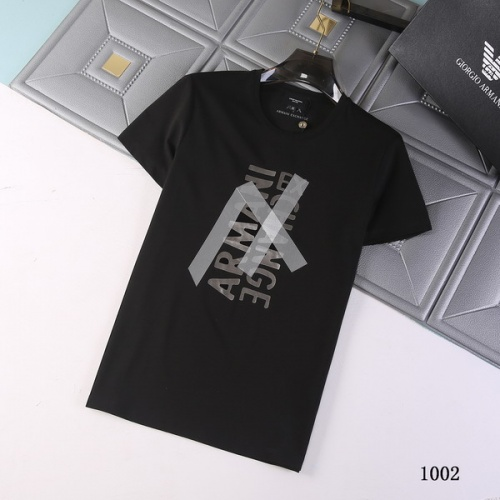 Armani T-Shirts Short Sleeved For Men #845691