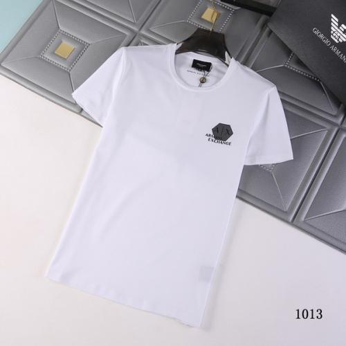 Armani T-Shirts Short Sleeved For Men #845696