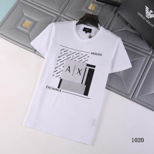 Armani T-Shirts Short Sleeved For Men #845698