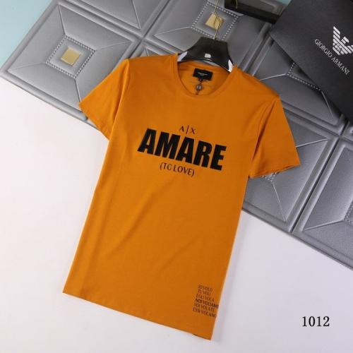 Armani T-Shirts Short Sleeved For Men #845701