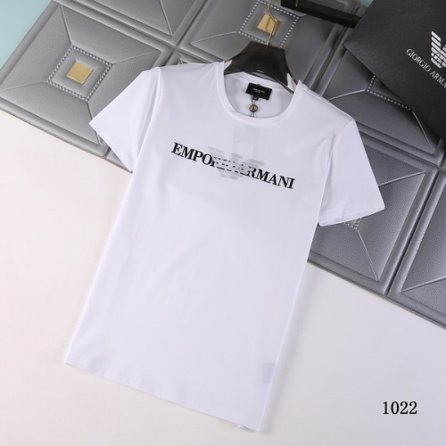 Armani T-Shirts Short Sleeved For Men #845706