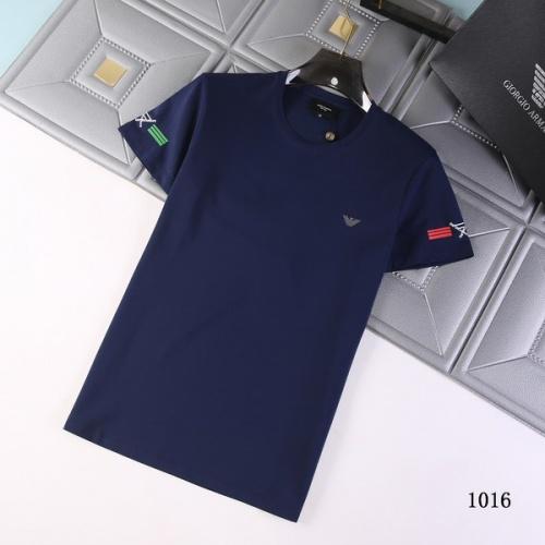 Armani T-Shirts Short Sleeved For Men #845708
