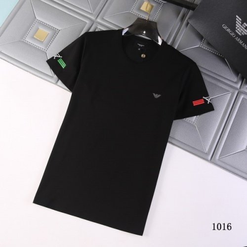 Armani T-Shirts Short Sleeved For Men #845709