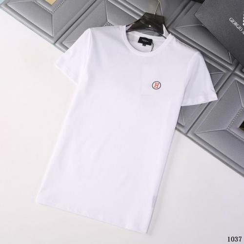 Hermes T-Shirts Short Sleeved For Men #845713