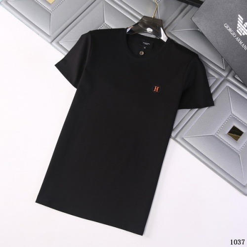 Hermes T-Shirts Short Sleeved For Men #845714