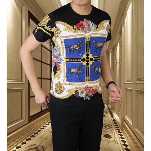Hermes T-Shirts Short Sleeved For Men #845717