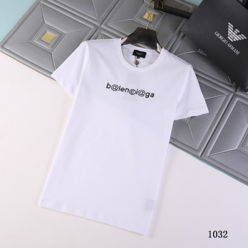 Balenciaga T-Shirts Short Sleeved For Men #845730