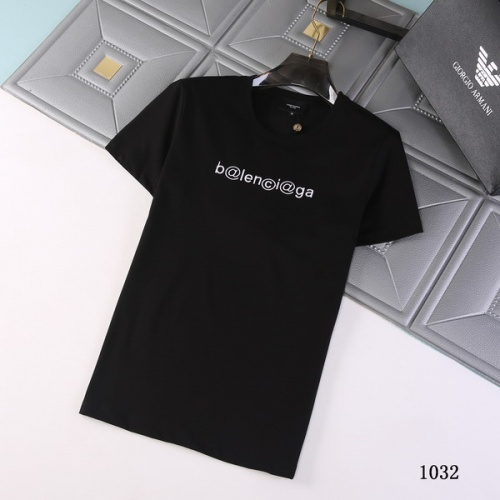 Balenciaga T-Shirts Short Sleeved For Men #845732