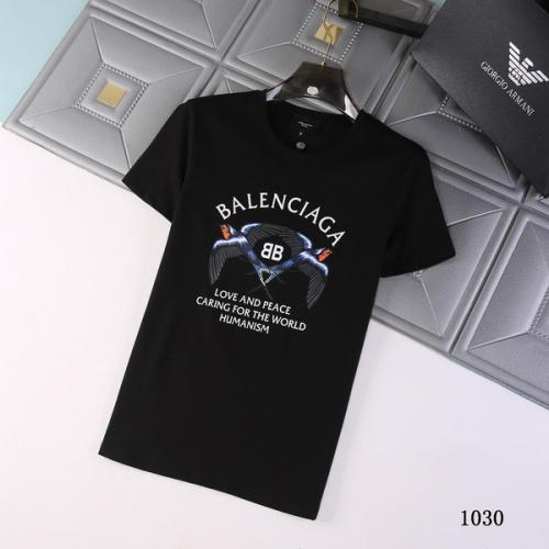 Balenciaga T-Shirts Short Sleeved For Men #845733