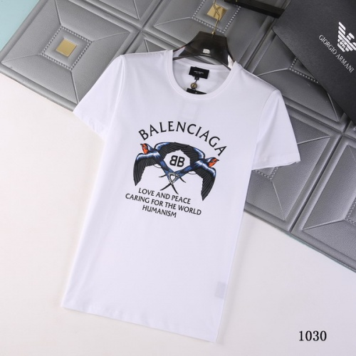 Balenciaga T-Shirts Short Sleeved For Men #845734