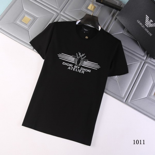 Christian Dior T-Shirts Short Sleeved For Men #845740