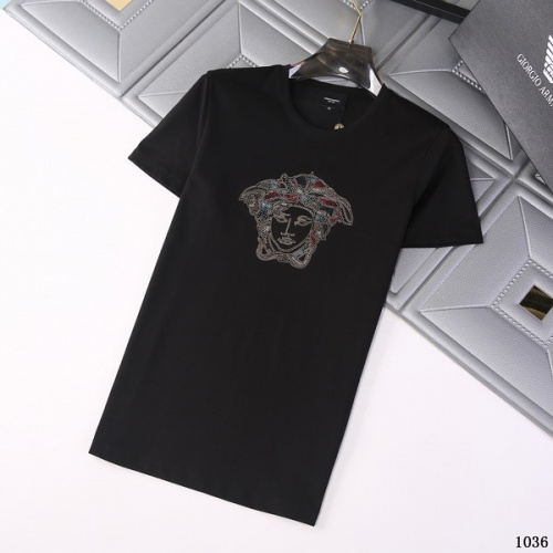 Versace T-Shirts Short Sleeved For Men #845754