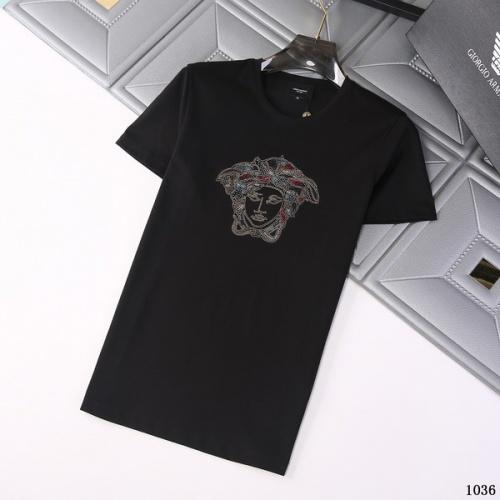 Versace T-Shirts Short Sleeved For Men #845754