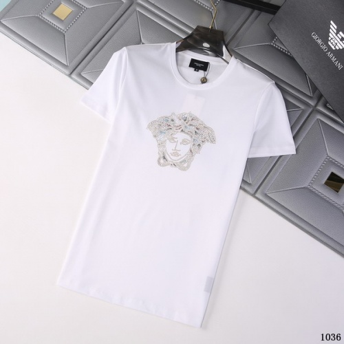 Versace T-Shirts Short Sleeved For Men #845755