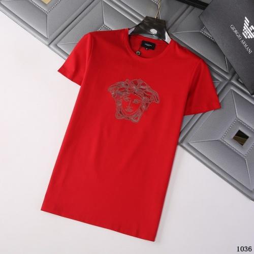 Versace T-Shirts Short Sleeved For Men #845756