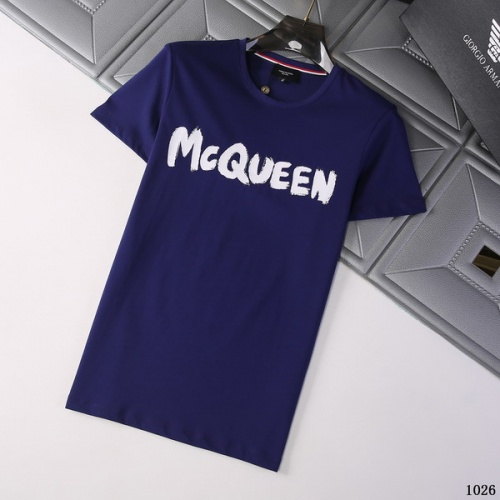 Alexander McQueen T-shirts Short Sleeved For Men #845762