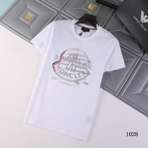 Moncler T-Shirts Short Sleeved For Men #845773