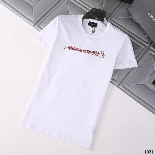 Moncler T-Shirts Short Sleeved For Men #845775