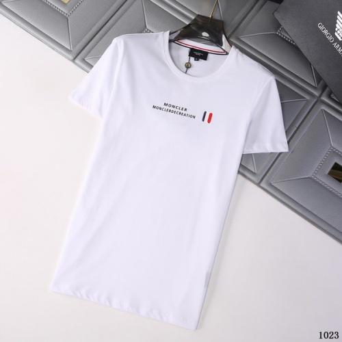 Moncler T-Shirts Short Sleeved For Men #845788