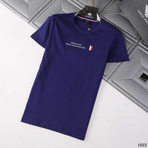Moncler T-Shirts Short Sleeved For Men #845789
