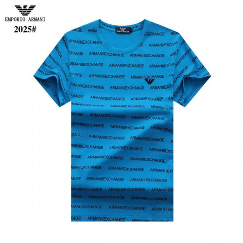 Armani T-Shirts Short Sleeved For Men #845811