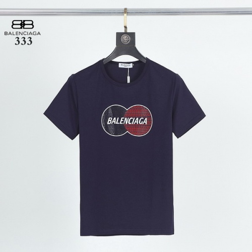Balenciaga T-Shirts Short Sleeved For Men #845821