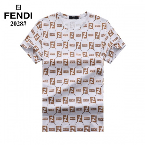 Fendi T-Shirts Short Sleeved For Men #845823