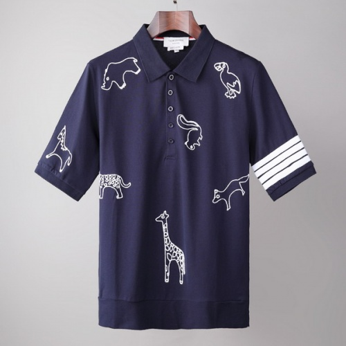 Thom Browne TB T-Shirts Short Sleeved For Men #845865