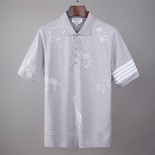 Thom Browne TB T-Shirts Short Sleeved For Men #845866